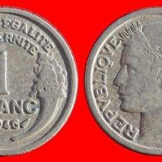 Monedas antiguas de Europa: 1 FRANCO 1946 FRANCIA 05955T COMPRAS SUPERIORES 40 EUROS ENVIO GRATIS. Lote 105112847