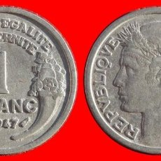 Monedas antiguas de Europa: 1 FRANCO 1947 FRANCIA 05956T COMPRAS SUPERIORES 40 EUROS ENVIO GRATIS. Lote 105112939