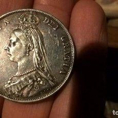Monedas antiguas de Europa: REINO UNIDO. EXTRAORDINARIO DOBLE FLORÍN DE PLATA DE 1887. Lote 105208827