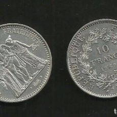 Monedas antiguas de Europa: PLATA-FRANCIA. 10 FRANCS 1967. 25 GRAMOS DE LEY 0,900. Lote 105295911