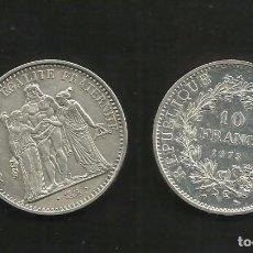 Monedas antiguas de Europa: PLATA-FRANCIA. 10 FRANCS 1973. 25 GRAMOS DE LEY 0,900. Lote 105296987