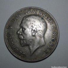 Monedas antiguas de Europa: MONEDA DE GRAN BRETAÑA UN FLORIN 1929 GEORGE V PLATA. Lote 105420971
