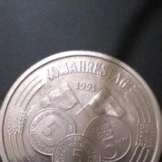 Monedas antiguas de Europa: MONEDA DE ALEMANIA 40 JAHRESTAG AÑO 1991.. Lote 105620339