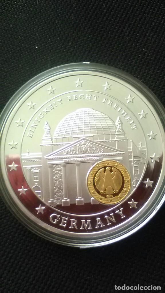 EXCELENTE MONEDA CONMEMORATIVA DE LOS 10 AÑOS DEL EURO GERMANY. (Numismática - Extranjeras - Europa)