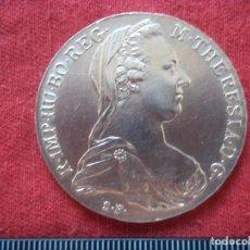 Monedas antiguas de Europa: REACUÑACIÓN THALER 1780 TALER PLATA AUSTRIA, SILVER MARIA THERESA TALER. Lote 105765295