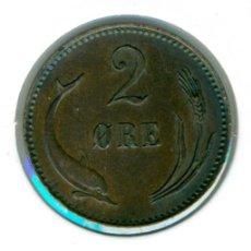Monedas antiguas de Europa: DINAMARCA 2 ÖRE 1897 ( EBC+ ) - CRISTIÁN IX DE DINAMARCA. Lote 105826955