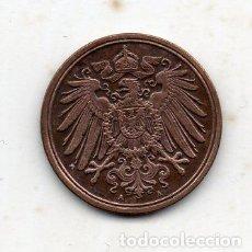 Monedas antiguas de Europa: ALEMANIA. 1 PFENNIG. AÑO 1909 A.. Lote 105937271