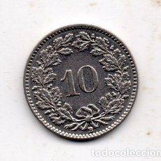 Monedas antiguas de Europa: SUIZA. 10 CÉNTIMOS. AÑO 1932.. Lote 106014651