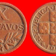 Monedas antiguas de Europa: 10 CENTAVOS 1961 PORTUGAL 06298T COMPRAS SUPERIORES 40 EUROS ENVIO GRATIS. Lote 106223323