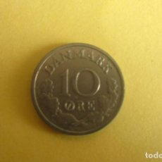 Monedas antiguas de Europa: 10 ORE 1965, FEDERICO IX DINAMARCA. Lote 106223503