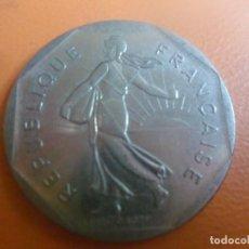 Monedas antiguas de Europa: FRANCIA - REPUBLICA FRANCESA - MONEDA DE 2 FRANCOS DE 1979. Lote 106641219