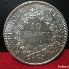 Monedas antiguas de Europa: 10 FRANCOS 1971 FRANCIA PLATA SIN CIRCULAR. Lote 106765083