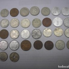 Monedas antiguas de Europa: LOTE DE 30 MONEDAS DE PAISES Y FECHAS DIFERENTES. VARIAS DE PLATA.TAMAÑO PEQUEÑO. Lote 106993007