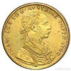 Monedas antiguas de Europa: 3676-CURIOSA MONEDA DE 4 DUCADOS DEL EMPERADOR DE AUSTRIA FRANCISCO JOSÉ I (1848-1901),. Lote 107039527