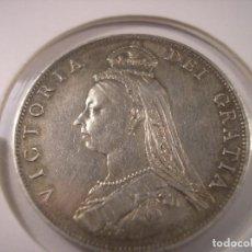 Monedas antiguas de Europa: GREAT BRITAIN 1 FLORIN PLATA 1887 / GRAN BRETAÑA 1 FLORIN 1887 SILVER. Lote 107195839