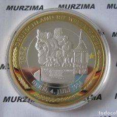 Monedas antiguas de Europa: MONEDA XXL DEL FÚTBOL DE ALEMANIA BERN 4 DE JULIO DE AÑO 1954.. Lote 107369931