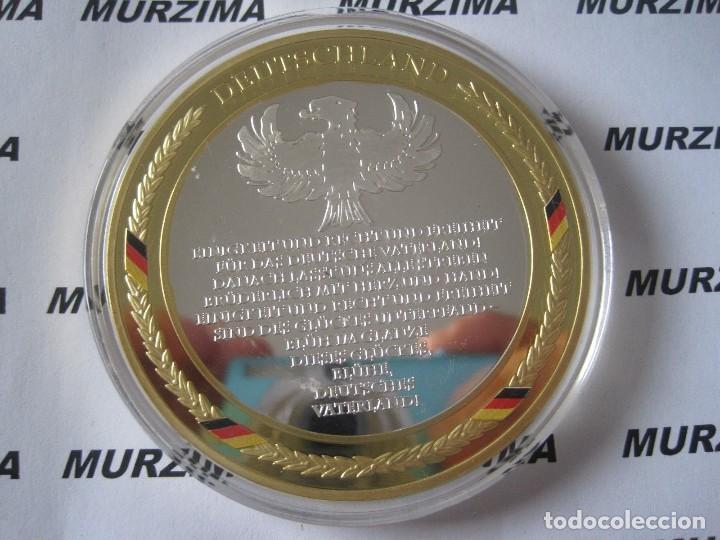 Monedas antiguas de Europa: MONEDA XXL DEL FÚTBOL DE ALEMANIA BERN 4 DE JULIO DE AÑO 1954. - Foto 2 - 107369931