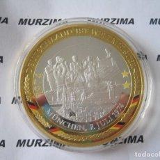 Monedas antiguas de Europa: MONEDA XXL DEL FÚTBOL ALEMÁN MÜNCHEN 7 DE JULIO AÑO 1974.. Lote 107370427