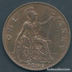 Monedas antiguas de Europa: GRAN BRETAÑA - 1 PENNY 1936 - EBC - PK 313 - VISITA MIS OTROS LOTES Y AHORRA GASTOS. Lote 108393343