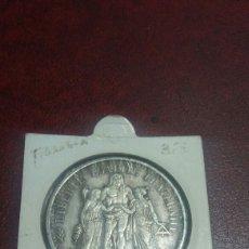 Monedas antiguas de Europa: MONEDA PLATA FRANCIA 10 FRANCOS 1965. Lote 108434082