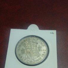 Monedas antiguas de Europa: MONEDA PLATA GRAN BRETAÑA 1 1/2 CORONA 1942. Lote 108510758
