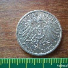 Monedas antiguas de Europa: 2 MARCOS (MARK) ALEMANIA 1907 A PLATA . Lote 108837375