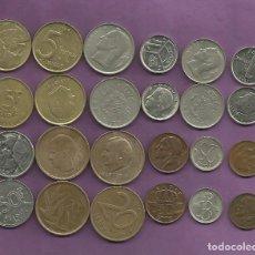 Monedas antiguas de Europa: BELGIE-BELGIQUE: 24 MONEDAS DE 24 MODELOS DIFERENTES. Lote 109045099