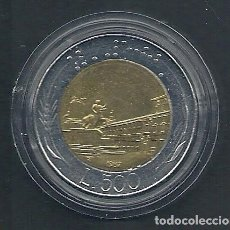 Alte Münzen aus Europa - ITALIA - 500 LIRE - BIMETAL - 1987 - EBC - CAT.SCHOEN Nº.110 - VISITA MIS OTROS LOTES Y AHORA GASTOS - 109303383