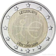 Monedas antiguas de Europa: LUXEMBURGO 2 EURO 2009 S/C 10º ANIV. DEL EMU . Lote 153911473