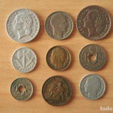 Monedas antiguas de Europa: LOTE 9 MONEDAS DIFERENTES REPUBLIQUE FRANÇAISE CHAMBRES DE COMMERCE DE FRANCE SIGLO XX FRANCIA. VER. Lote 110469647