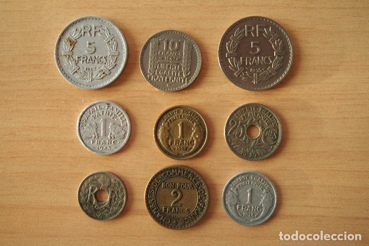 Monedas antiguas de Europa: LOTE 9 MONEDAS DIFERENTES REPUBLIQUE FRANÇAISE CHAMBRES DE COMMERCE DE FRANCE SIGLO XX FRANCIA. VER - Foto 2 - 110469647