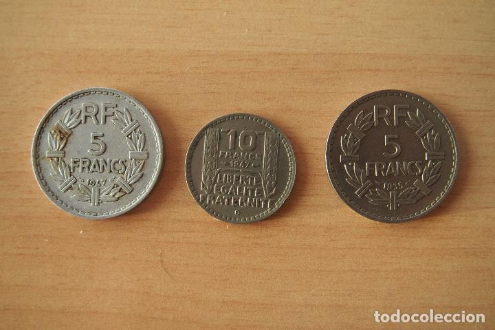 Monedas antiguas de Europa: LOTE 9 MONEDAS DIFERENTES REPUBLIQUE FRANÇAISE CHAMBRES DE COMMERCE DE FRANCE SIGLO XX FRANCIA. VER - Foto 3 - 110469647