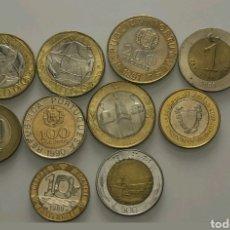 Monedas antiguas de Europa: LOTE MONEDAS BIMETALICAS. Lote 110567931