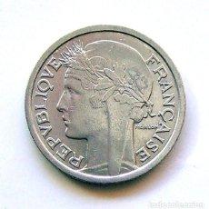 Monedas antiguas de Europa: MONEDAS DEL MUNDO . FRANCIA . 1 FRANC 1957.B , EXCELENTE. Lote 110894783
