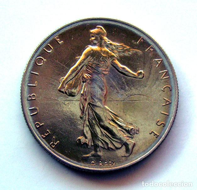 MONEDAS DEL MUNDO . FRANCIA . 1 FRANC 1960 . EXCELENTE (Numismática - Extranjeras - Europa)