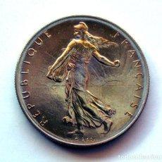 Monedas antiguas de Europa: MONEDAS DEL MUNDO . FRANCIA . 1 FRANC 1960 . EXCELENTE. Lote 110894875