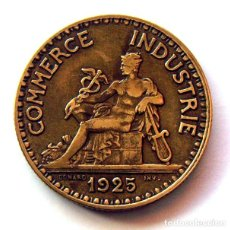 Monedas antiguas de Europa: MONEDAS DEL MUNDO . FRANCIA . 2 FRANCS 1925 . CHAMBRES DE COMMERCE. Lote 110895415