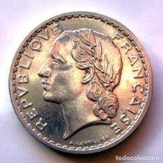 Monedas antiguas de Europa: MONEDAS DEL MUNDO . FRANCIA . 5 FRANCS 1949.B . EXCELENTE. Lote 110896779