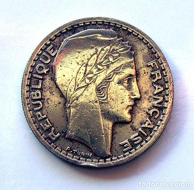 MONEDAS DEL MUNDO . FRANCIA . 10 FRANCS 1946-B . CABEZA GRANDE (Numismática - Extranjeras - Europa)