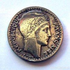 Monedas antiguas de Europa: MONEDAS DEL MUNDO . FRANCIA . 10 FRANCS 1946-B . CABEZA GRANDE. Lote 110896863