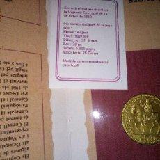 Monnaies anciennes de Europe: ANDORRA. 25 DINERS DE PLATA DE 1989. EN CARTERA + CERTIFICADO. Lote 282535503