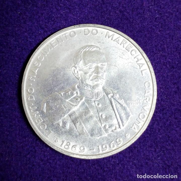 MONEDA DE PLATA DE PORTUGAL. 50 ESCUDOS. CARMONA. 1969. SIN CIRCULAR. SILVER. (Numismática - Extranjeras - Europa)