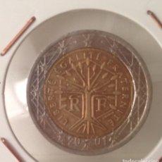 Monedas antiguas de Europa: ERROR MONEDA 2 EUROS FRANCIA 2001. VARIANTE MICKEY MOUSE.. Lote 111647386