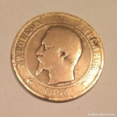 Monedas antiguas de Europa: NAPOLEÓN III FRANCIA -1856 -DIX CENTIMES - M . Lote 111829471