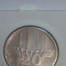 Monedas antiguas de Europa: MONEDA PLATA POLONIA 20 ZE 1976. Lote 111850911