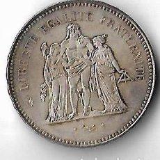Monedas antiguas de Europa: MONEDA DE PLATA DE 50 FRANCOS FRANCESES AÑO 1976. Lote 111860063