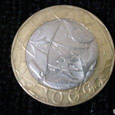 Monedas antiguas de Europa: 1000 LIRAS DE ITALIA 1997. Lote 111923739