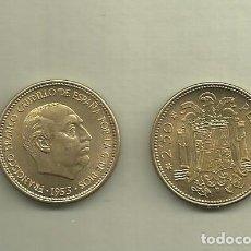 Monedas antiguas de Europa: ESPAÑA: MONEDAS DE 2,50 PESETAS 1953, *54. NO CIRCULADA. Lote 136525582