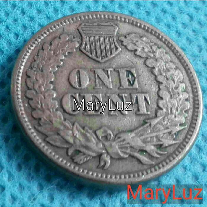 Monedas antiguas de Europa: ONE CENT. UN CENTAVO. EEUU. Año 1863 Envío: 1,30 € *. - Foto 2 - 112896203