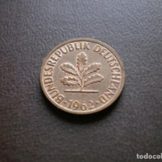 Monedas antiguas de Europa: ALEMANIA ( REP. FEDERAL ) 2 PFENNIG 1962 F. Lote 113280851
